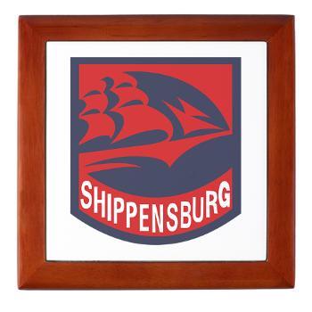 SU - M01 - 03 - SSI - ROTC - Shippensburg University - Keepsake Box