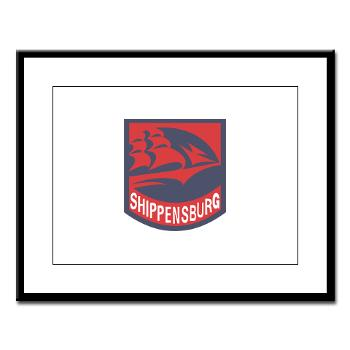 SU - M01 - 02 - SSI - ROTC - Shippensburg University - Large Framed Print