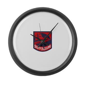 SU - M01 - 03 - SSI - ROTC - Shippensburg University - Large Wall Clock