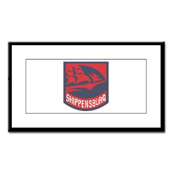 SU - M01 - 02 - SSI - ROTC - Shippensburg University - Small Framed Print