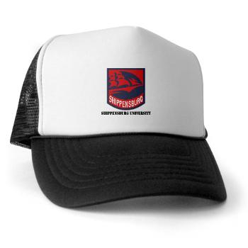SU - A01 - 02 - SSI - ROTC - Shippensburg University with Text - Trucker Hat
