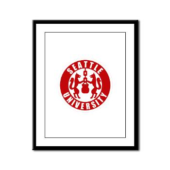SU - M01 - 02 - SSI - ROTC - Seattle University - Framed Panel Print