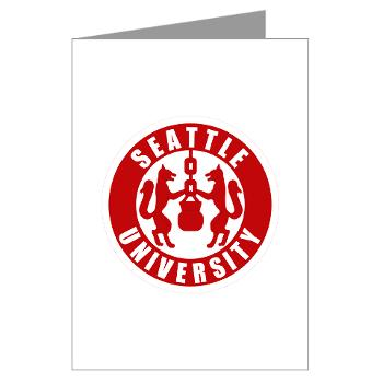 SU - M01 - 02 - SSI - ROTC - Seattle University - Greeting Cards (Pk of 20)