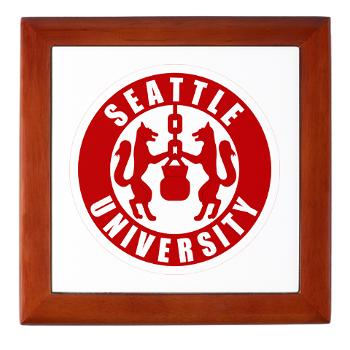 SU - M01 - 03 - SSI - ROTC - Seattle University - Keepsake Box