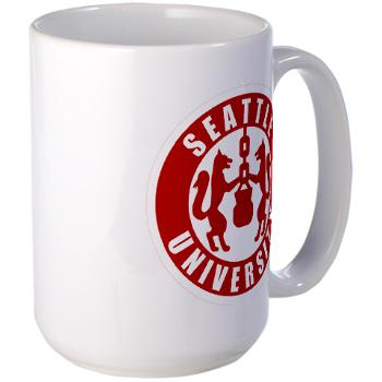 SU - M01 - 03 - SSI - ROTC - Seattle University - Large Mug