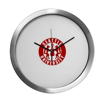 SU - M01 - 03 - SSI - ROTC - Seattle University - Modern Wall Clock