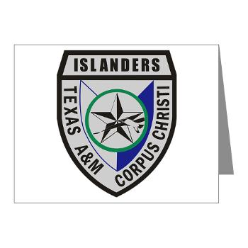 TAMUCC - M01 - 02 - SSI - ROTC - Texas A&M Unversity-Corpus Christi - Note Cards (Pk of 20)