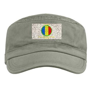 TRADOC - A01 - 01 - SSI - TRADOC with Text - Military Cap