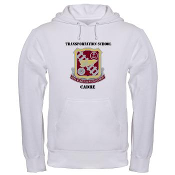 TSC - A01 - 03 - DUI - Transportation School - Cadre with Text Hooded Sweatshirt