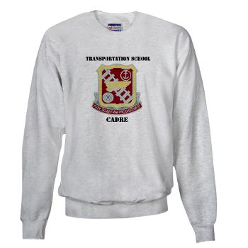 TSC - A01 - 03 - DUI - Transportation School - Cadre with Text Sweatshirt