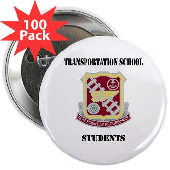 "TSS - M01 - 01 - DUI - Transportation School - Students with Text 2.25"" Button (100 pack)"