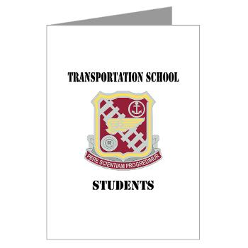 TSS - M01 - 02 - DUI - Transportation School - Students with Text Greeting Cards (Pk of 10)