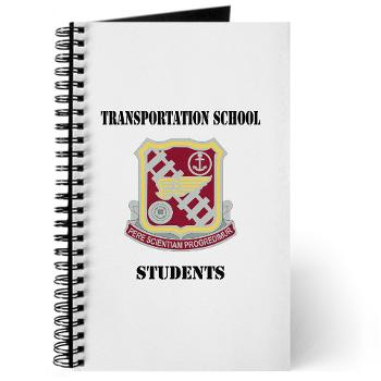 TSS - M01 - 02 - DUI - Transportation School - Students with Text Journal