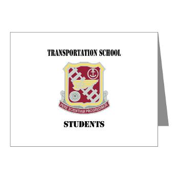 TSS - M01 - 02 - DUI - Transportation School - Students with Text Note Cards (Pk of 20)