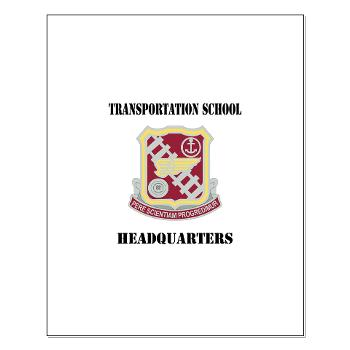 TSTSH - M01 - 02 - DUI - Transportation School - Headquarters with Text Small Poster