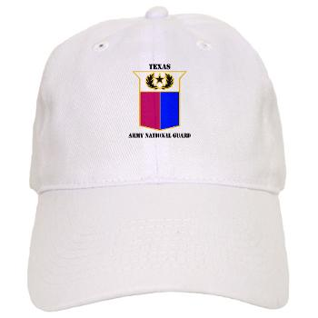 TXARNG - A01 - 01 - DUI - Texas Army National Guard with Text - Cap