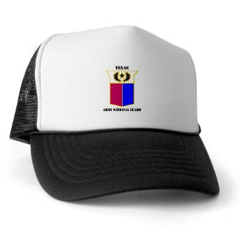 TXARNG - A01 - 02 - DUI - Texas Army National Guard with Text - Trucker Hat