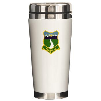 UI - M01 - 03 - SSI - ROTC - University of Idaho - Ceramic Travel Mug