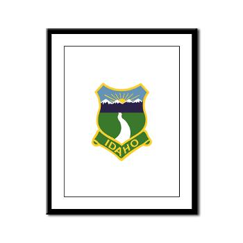 UI - M01 - 02 - SSI - ROTC - University of Idaho - Framed Panel Print