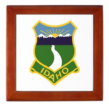 UI - M01 - 03 - SSI - ROTC - University of Idaho - Keepsake Box