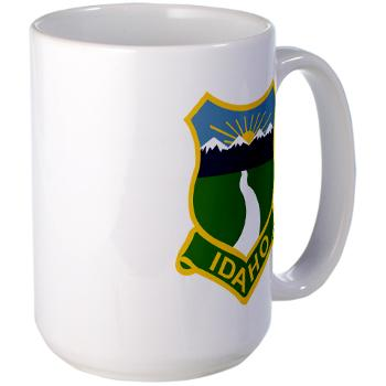 UI - M01 - 03 - SSI - ROTC - University of Idaho - Large Mug