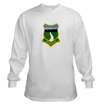 UI - A01 - 03 - SSI - ROTC - University of Idaho - Long Sleeve T-Shirt