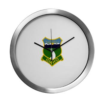 UI - M01 - 03 - SSI - ROTC - University of Idaho - Modern Wall Clock