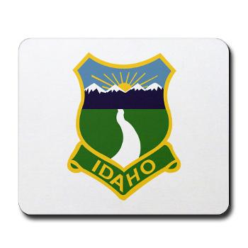 UI - M01 - 03 - SSI - ROTC - University of Idaho - Mousepad