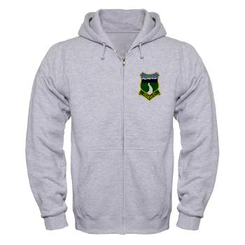 UI - A01 - 03 - SSI - ROTC - University of Idaho - Zip Hoodie