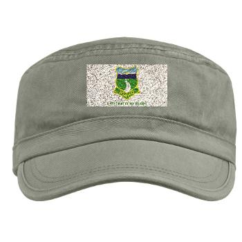 UI - A01 - 01 - SSI - ROTC - University of Idaho with Text - Military Cap