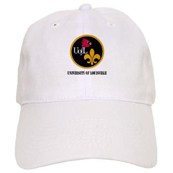 UL - A01 - 01 - SSI - ROTC - University of Louisville with Text - Cap