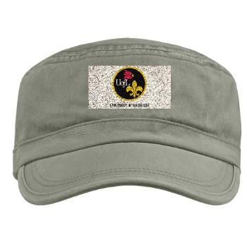 UL - A01 - 01 - SSI - ROTC - University of Louisville with Text - Military Cap