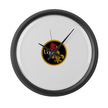 UL - M01 - 03 - SSI - ROTC - University of Louisville - Large Wall Clock