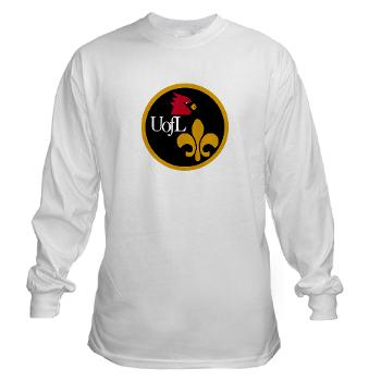UL - A01 - 03 - SSI - ROTC - University of Louisville - Long Sleeve T-Shirt