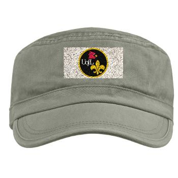 UL - A01 - 01 - SSI - ROTC - University of Louisville - Military Cap