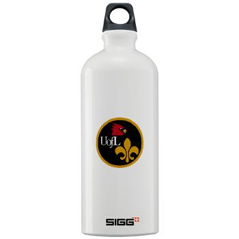 UL - M01 - 03 - SSI - ROTC - University of Louisville - Sigg Water Bottle 1.0L