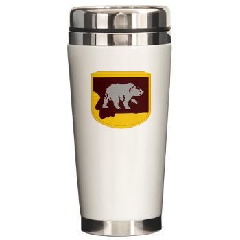 UM - M01 - 03 - SSI - ROTC - University of Montana - Ceramic Travel Mug