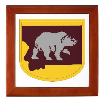 UM - M01 - 03 - SSI - ROTC - University of Montana - Keepsake Box
