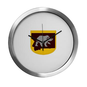 UM - M01 - 03 - SSI - ROTC - University of Montana - Modern Wall Clock