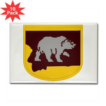 UM - M01 - 01 - SSI - ROTC - University of Montana - Rectangle Magnet (10 pack)