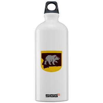 UM - M01 - 03 - SSI - ROTC - University of Montana - Sigg Water Bottle 1.0L