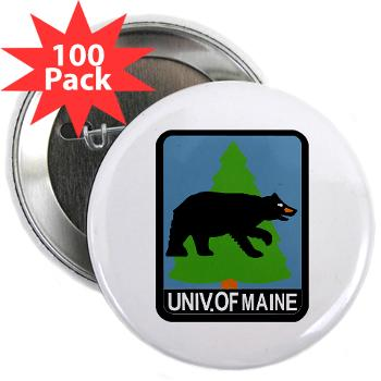 "UM - M01 - 01 - University of Maine - 2.25"" Button (100 pack)"