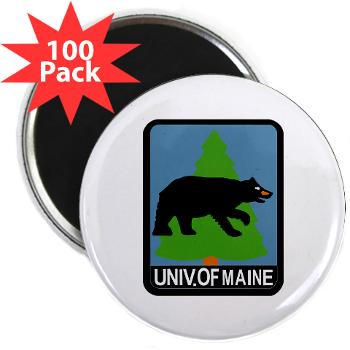 "UM - M01 - 01 - University of Maine - 2.25"" Magnet (100 pack)"