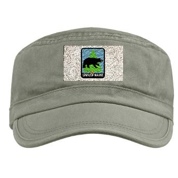 UM - A01 - 01 - University of Maine - Military Cap