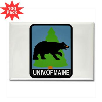 UM - M01 - 01 - University of Maine - Rectangle Magnet (100 pack)