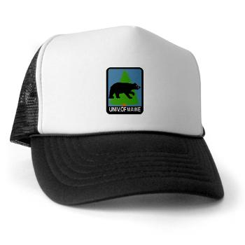 UM - A01 - 02 - University of Maine - Trucker Hat