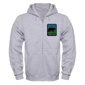 UM - A01 - 03 - University of Maine - Zip Hoodie