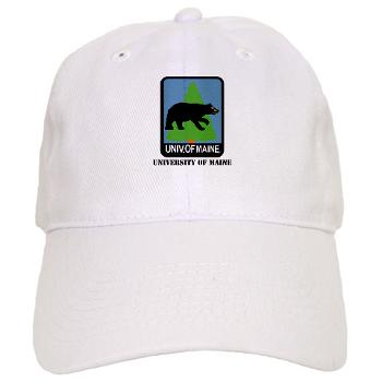 UM - A01 - 01 - University of Maine with Text - Cap