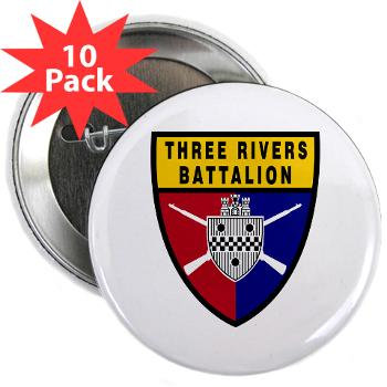 "UP - M01 - 01 - SSI - ROTC - University of Pittsburgh - 2.25"" Button (10 pack)"