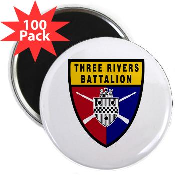 "UP - M01 - 01 - SSI - ROTC - University of Pittsburgh - 2.25"" Magnet (100 pack)"